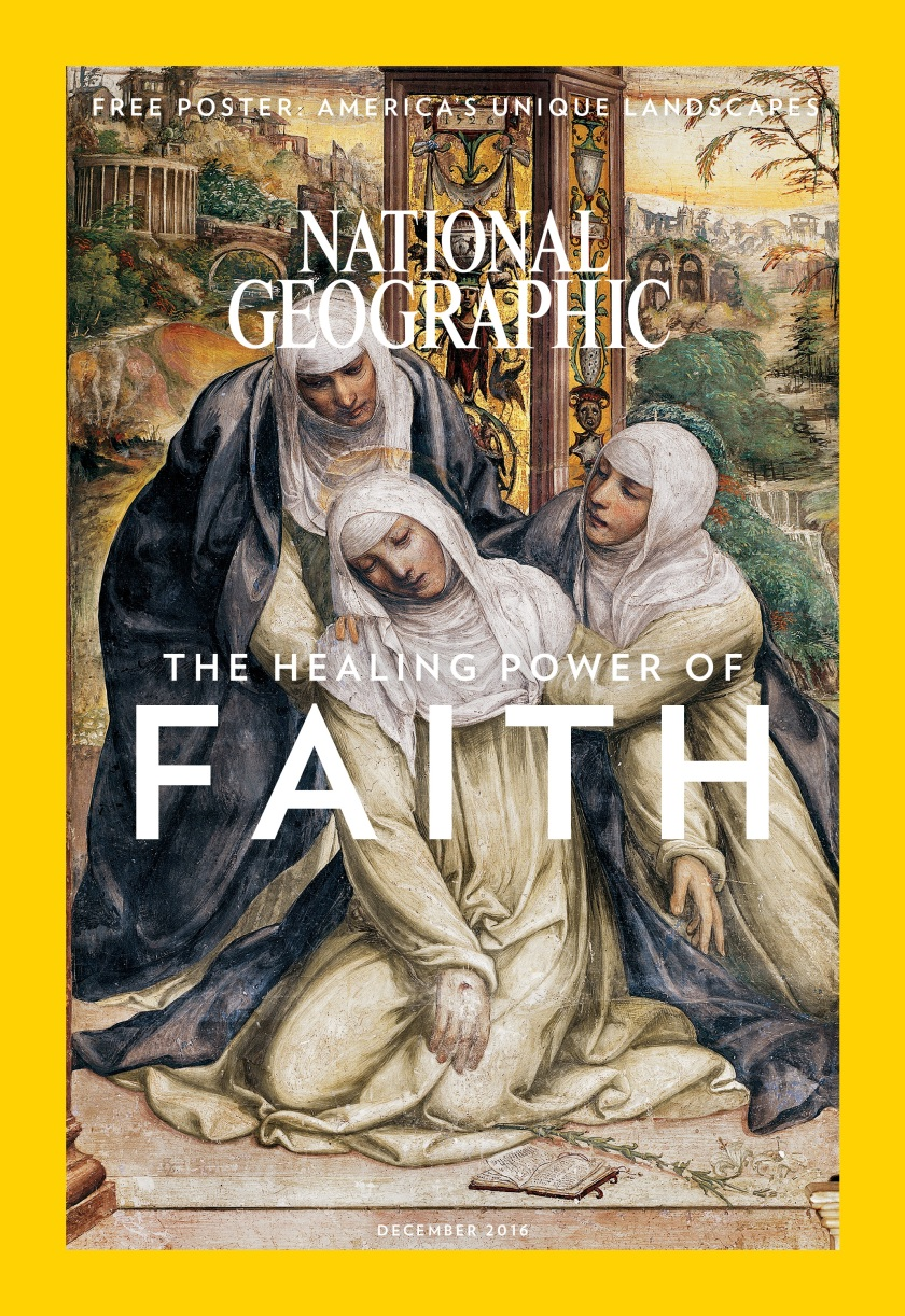 Cover of National Geographic's December issue