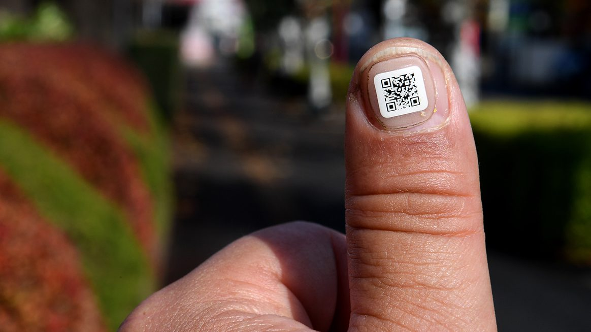 Barcodes for dementia sufferers