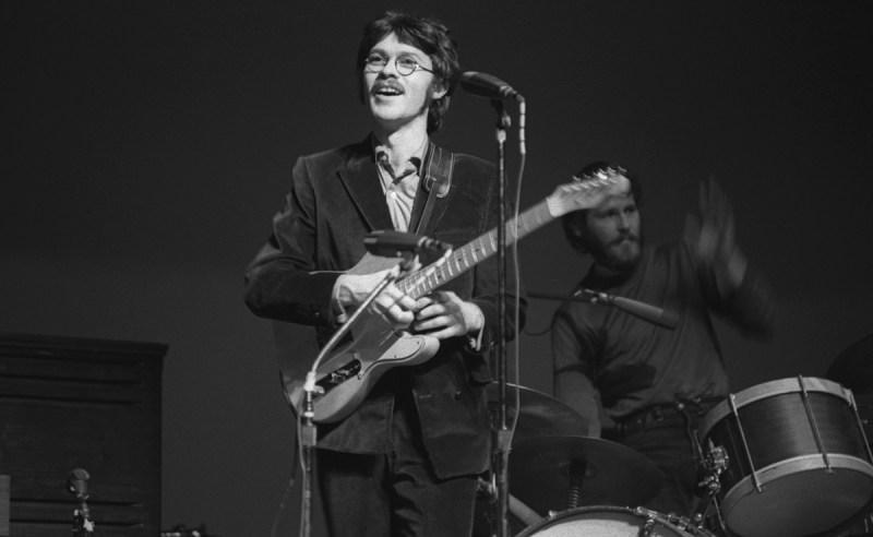 Guitarist Robbie Robertson