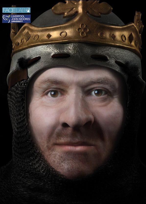 Robert the Bruce facial reconstruction