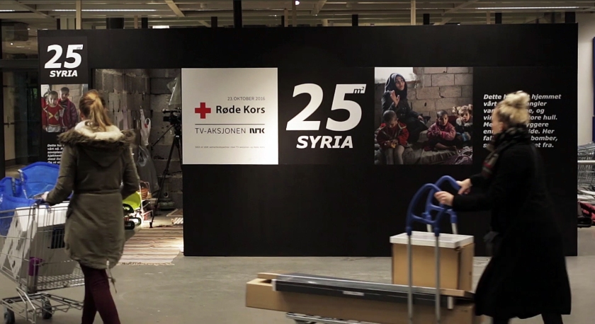 A look at the Syrian home installation at IKEA Norway (POL/Ikea Norway)