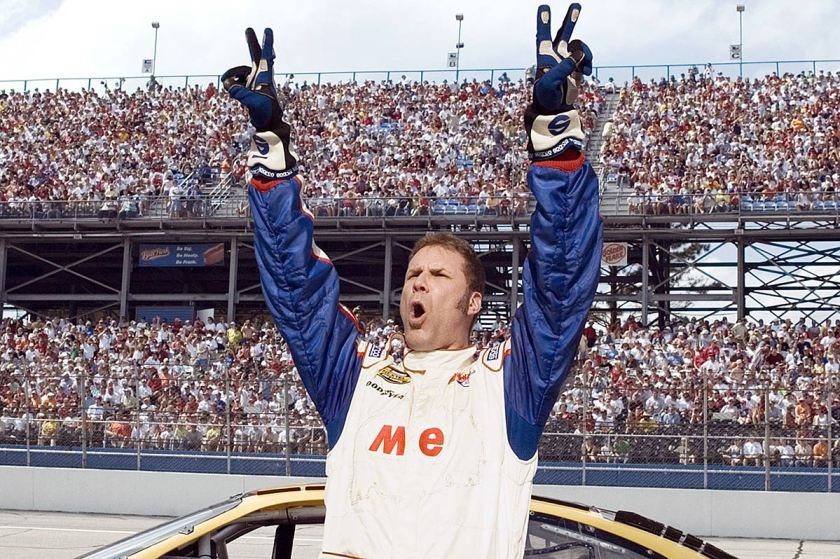 TALLADEGA NIGHTS: THE BALLAD OF RICKY BOBBY, Will Ferrell, 2006. (Sony Pictures/Courtesy Everett Collection)