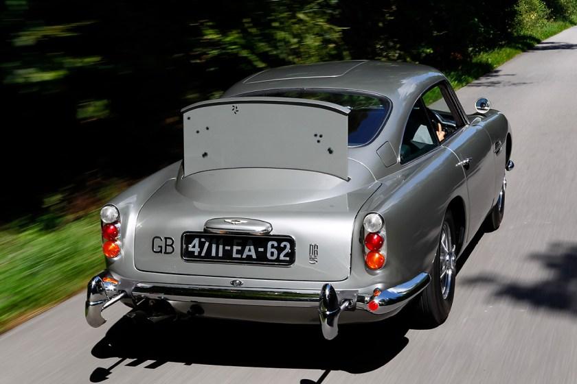 James Bond's 1964 Aston Martin DB5 From Goldfinger