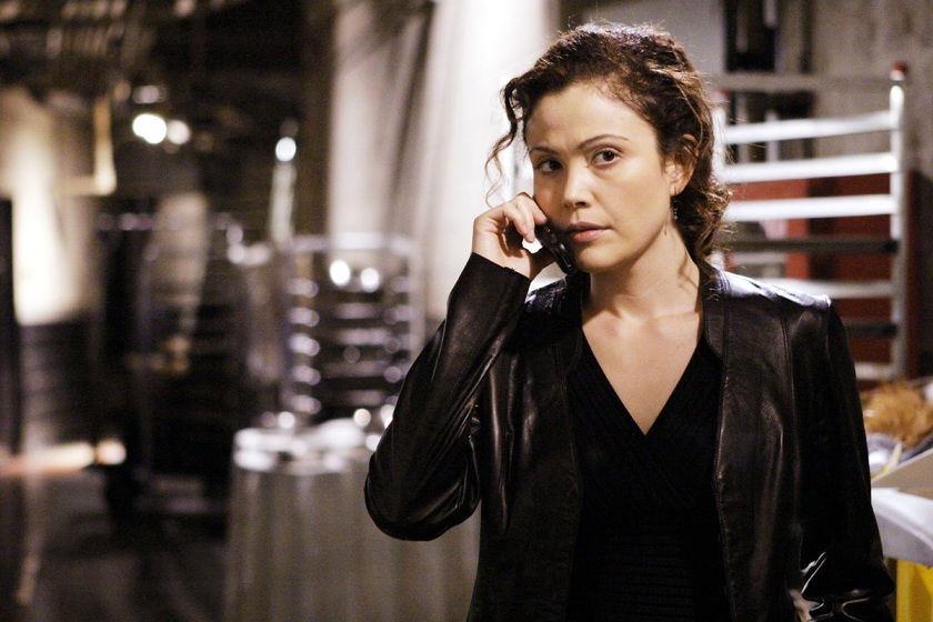 Reiko Aylesworth as Michelle Dessler on '24' (© 20th Century Fox Film Corp. All rights reserved/Courtesy Everett Collection)