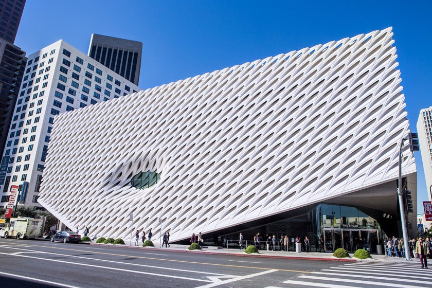 The Broad Museum of Los Angeles. (Getty Images)