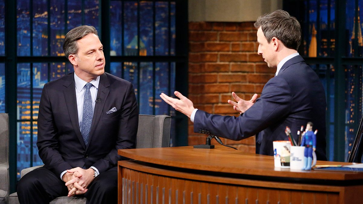 CNN's Jake Tapper on Seth Meyers