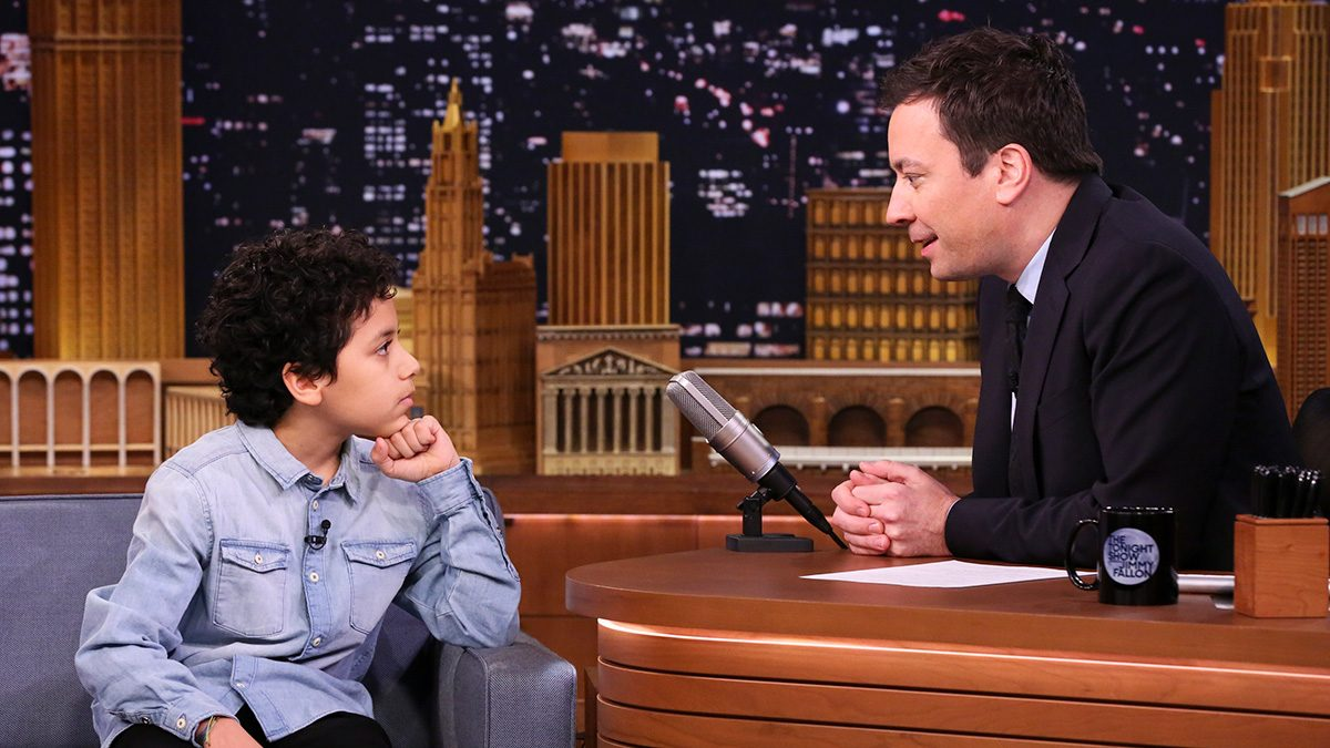 Ciro Ortiz Gives Emotional Advice to Jimmy Fallon
