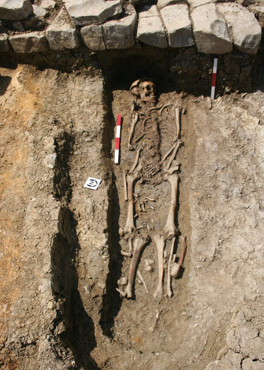 Earliest Remains of Monks in the United Kingdom
