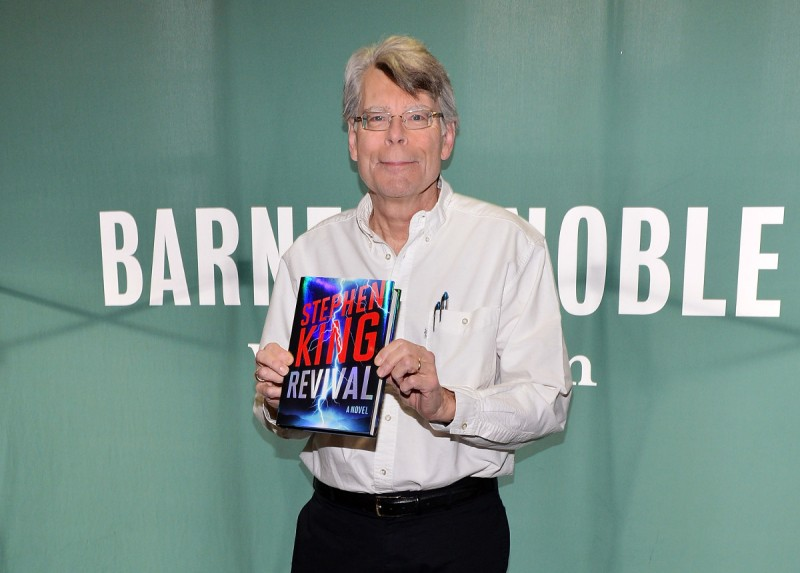 Author Stephen King signs the copies of his book 'Revival' at Barnes & Noble Union Square (Slaven Vlasic/Getty Images)
