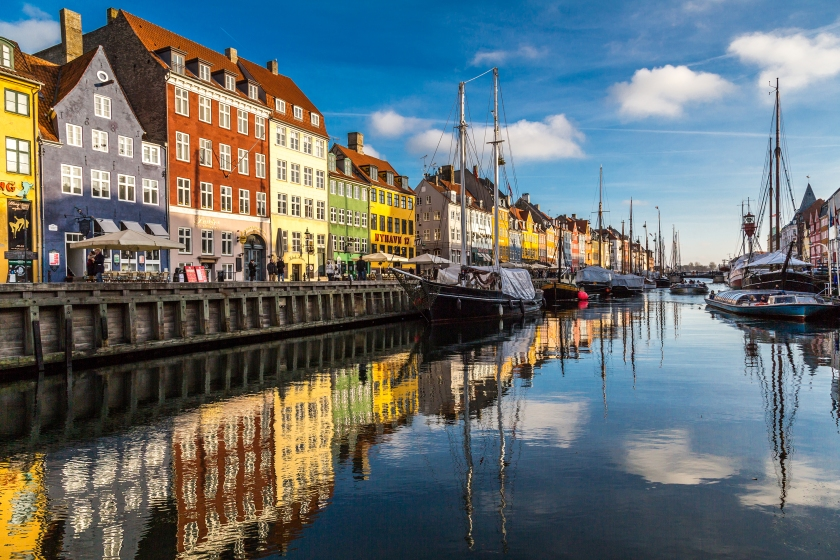 Iceland is the world's most peaceful country, followed by Denmark, pictured, and Austria. (Getty Images)