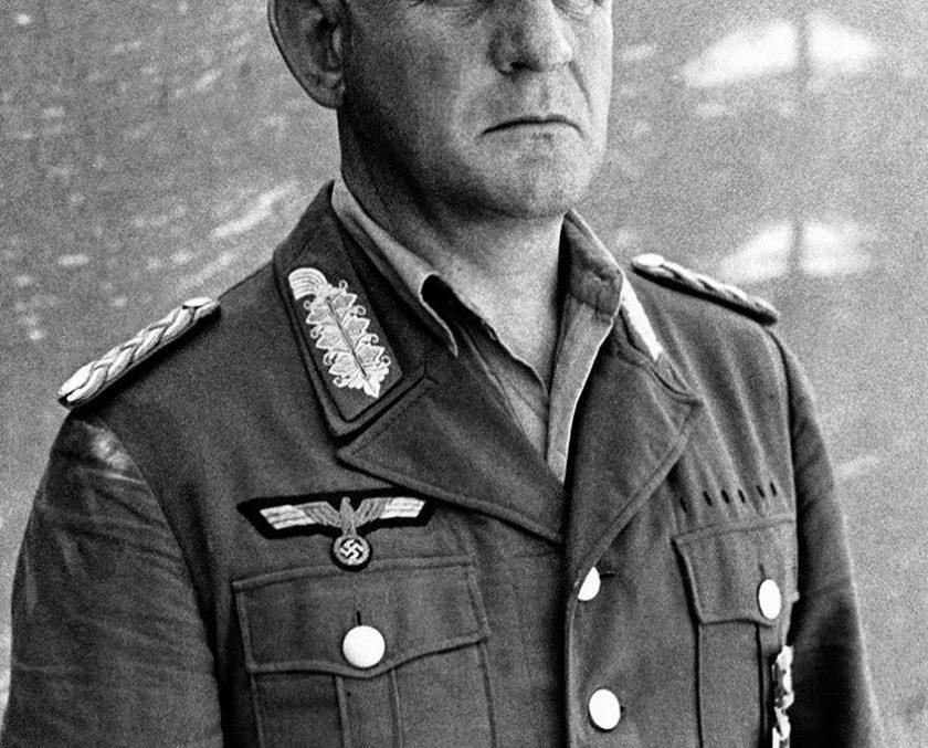 Nazi General Heinriche Kreipe, photographed on Crete n April 1944. (Keystone-France/Gamma-Rapho via Getty Images)