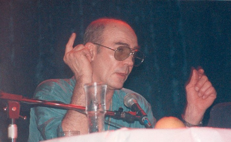 Hunter S. Thompson, Long Beach, California, May 1989 (Rs79/Wikimedia Commons)