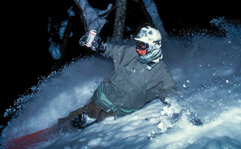 Mike Ranquet shot by Sean Sullivan, 1996