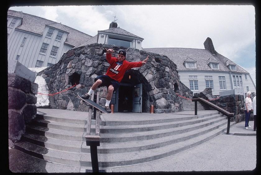 John Cardiel shot by Bud Fawcett, 1990 (From Snow Beach edited by Alex Dymond, published by powerHouse Books.)