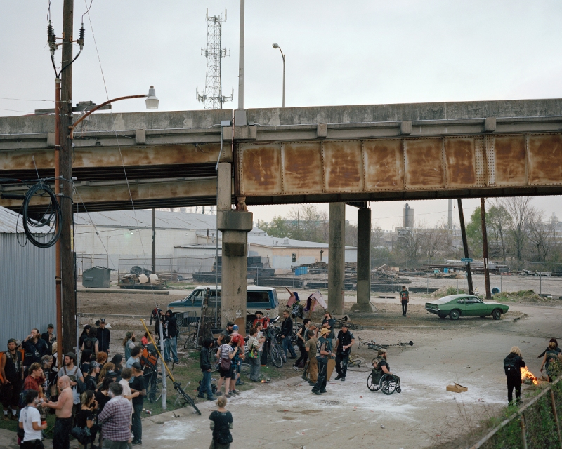 Ford Mustang Fastback, Upper 9th Ward, 2012 (Justine Kurland/Aperture)