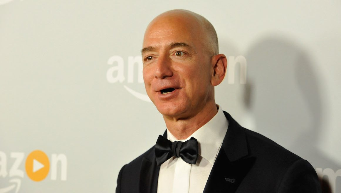 WEST HOLLYWOOD, CA - SEPTEMBER 18:  Amazon founder and CEO Jeff Bezos attends Amazon's Emmy Celebration at Sunset Tower Hotel on September 18, 2016 in West Hollywood, California.  (Photo by Michael Tullberg/WireImage)