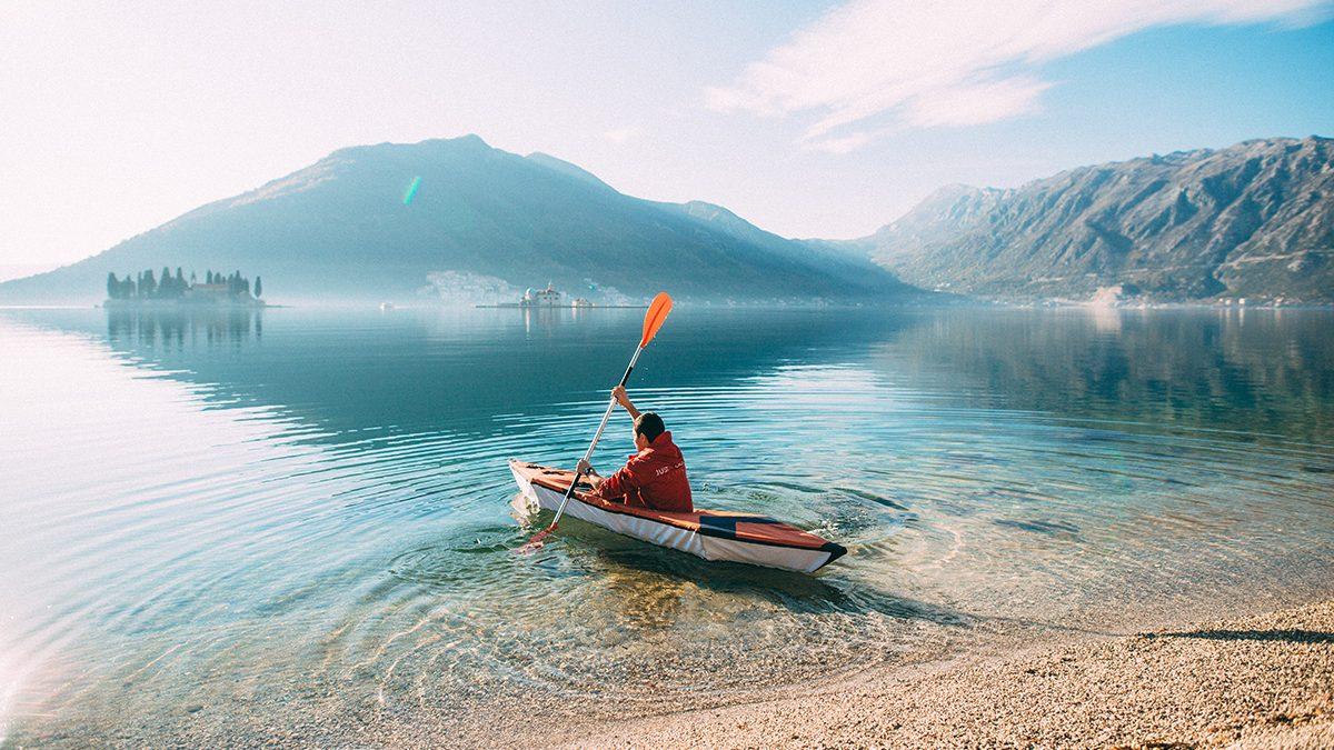 The Justin Case Portable Kayak