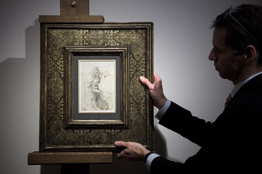 Rare Leonardo da Vinci Discovery