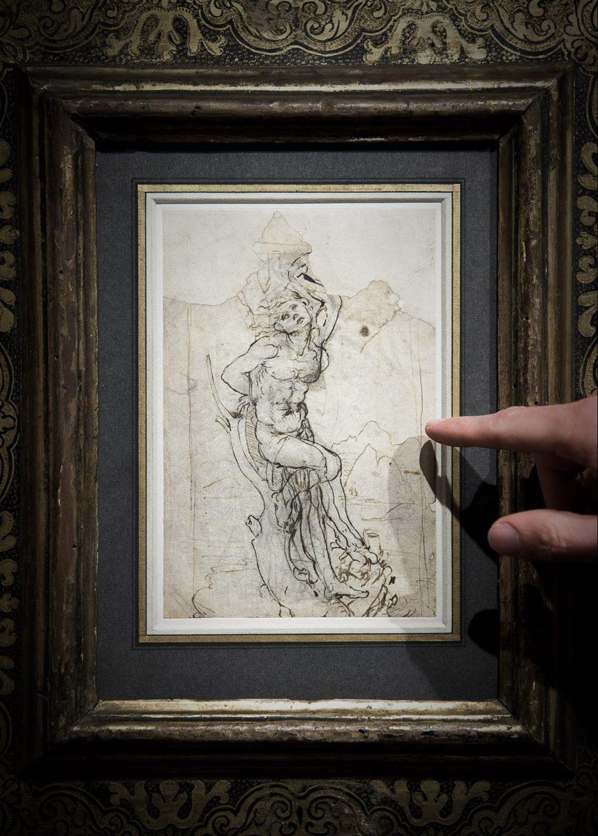 Rare Leonardo da Vinci Drawing Discovered