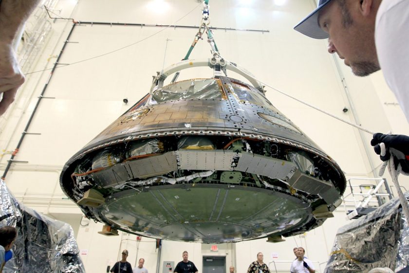 Orion, the Spacecraft That Will Get Us to Mars