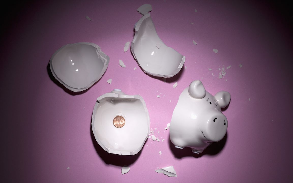 The mistake of saving for a rainy day. (Getty Images)