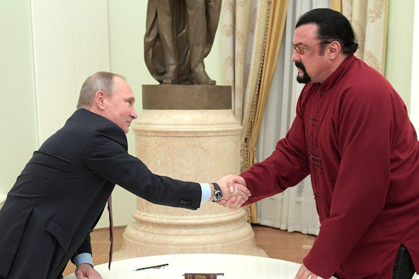 How Steven Seagal Became Russian