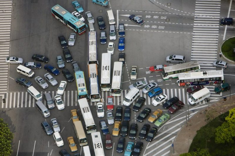 Traffic jam (Getty Images)