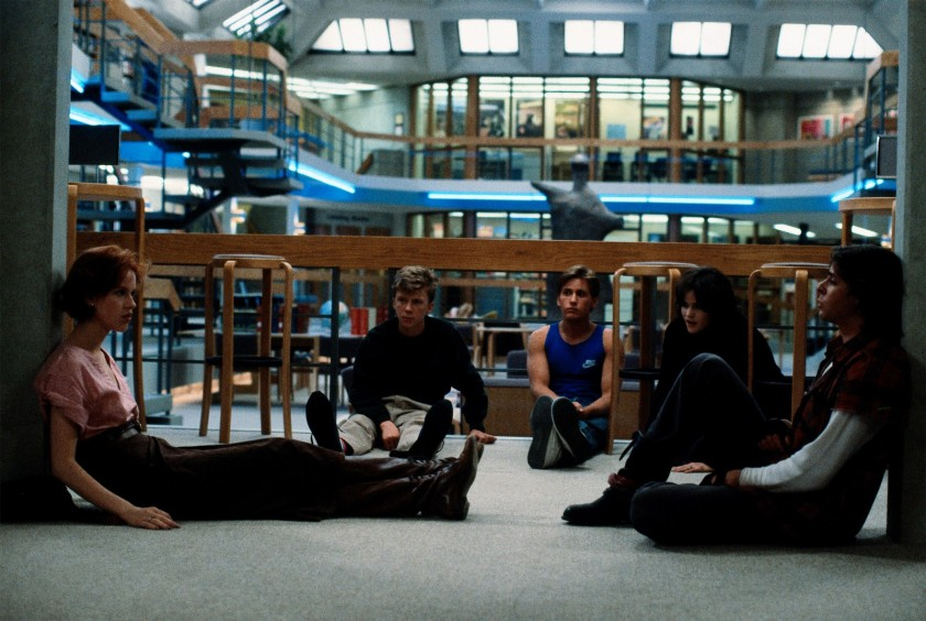 The Breakfast Club hits HBO on February 1st (Universal Pictures)