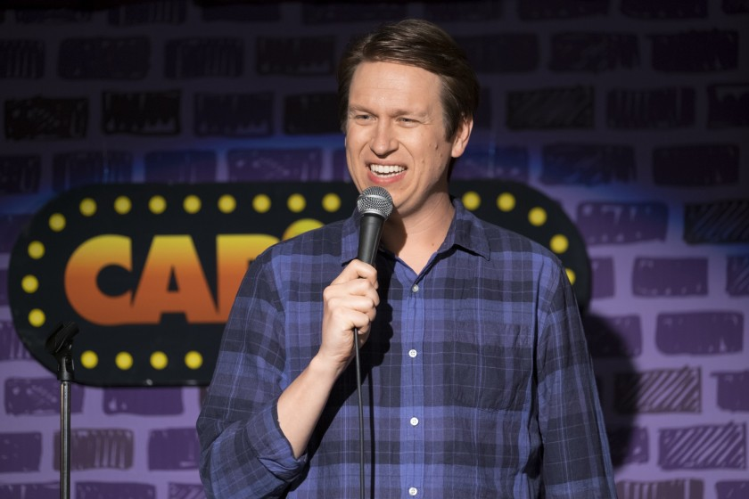 Comedian Pete Holmes stars in the new series 'Crashing' (Macall B. Polay/HBO)