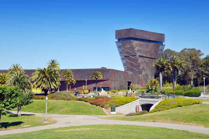 San Francisco, de Young Museum im Golden Gate Park (Getty Images)