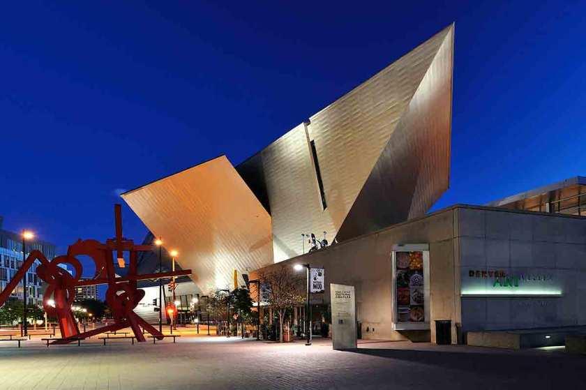 Denver Art Museum, Colorado, USA (Getty Images)
