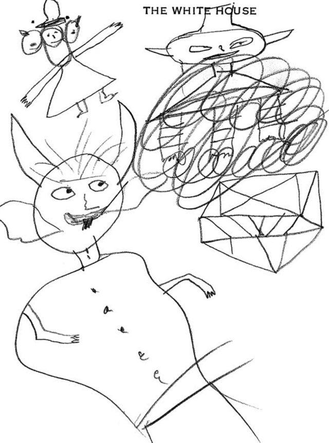 Presidential Doodlers