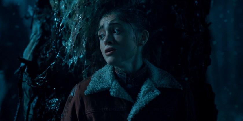 "Natalia Dyer as "" Nancy Wheeler"" in Netflix's Stranger Things (Courtesy Netflix)"