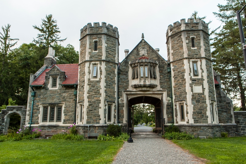 19th Century Gate House at Bard College. (Getty Images)