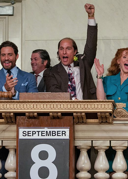 """Bryce Dallas Howard and Matthew McConaughey, center, in """"Gold."""" (The Weinstein Company)"""
