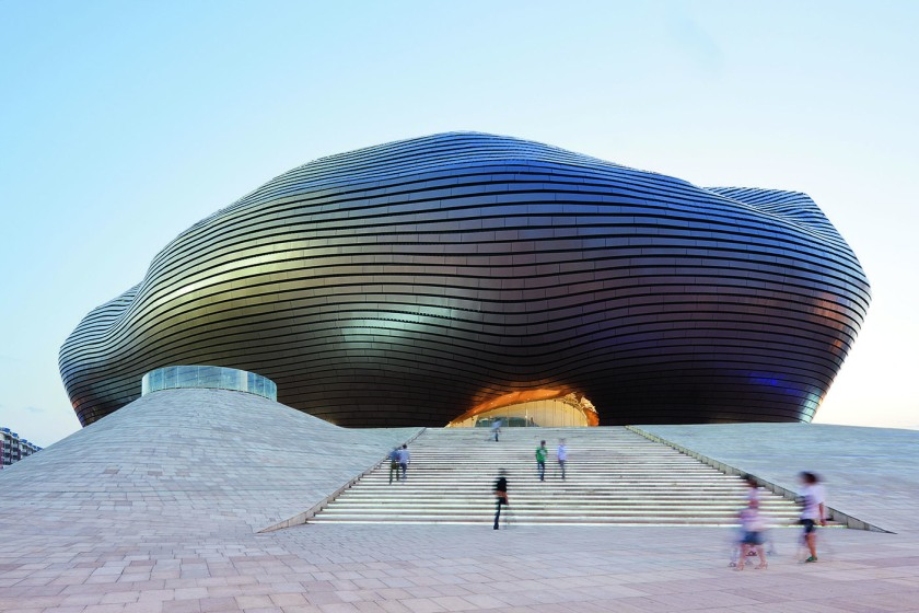 Ordos Museum, 2005–2011, Ordos, China. (Iwan Baan /Published by Phaidon)