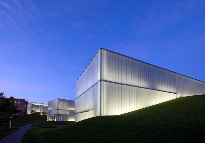 UNITED STATES - JUNE 07: Bloch Building, Nelson-Atkins Art Museum, Kansas City, Missouri (Photo by Carol M. Highsmith/Buyenlarge/Getty Images)