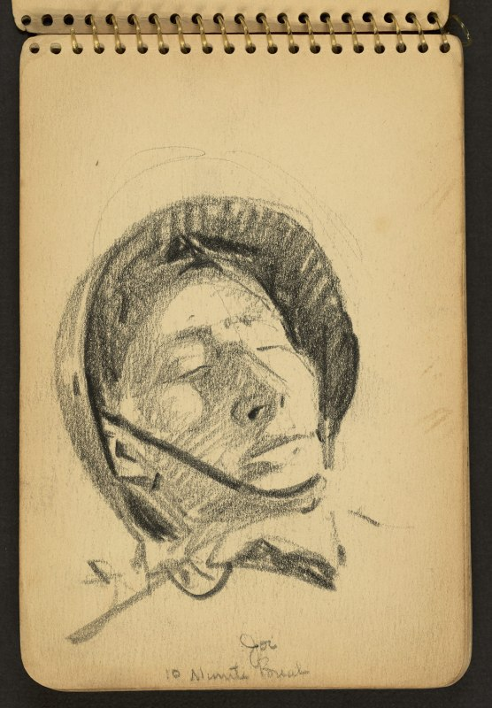 Victor Lundy World War II sketches