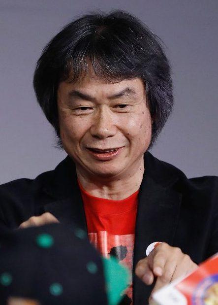 Shigeru Miyamoto speaks during the Super Mario Run with creator Shigeru Miyamoto at Apple Store Soho (John Lamparski/Getty Images)