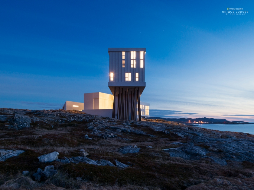 (Courtesy Fogo Island Inn/Nat Geo Unique Lodges)