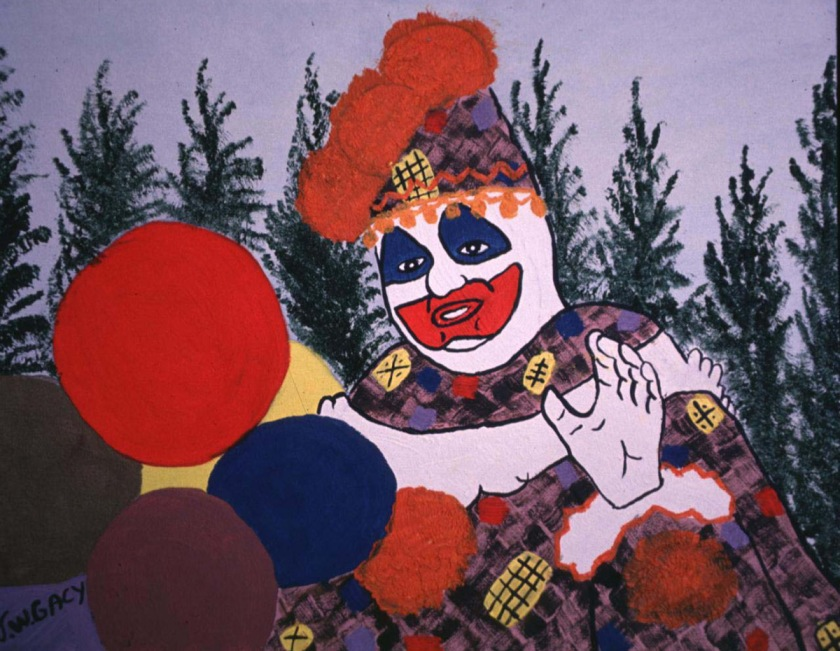 John Wayne Gacy's 'Pogo the Clown' self-portrait (Steve Eichner/WireImage)
