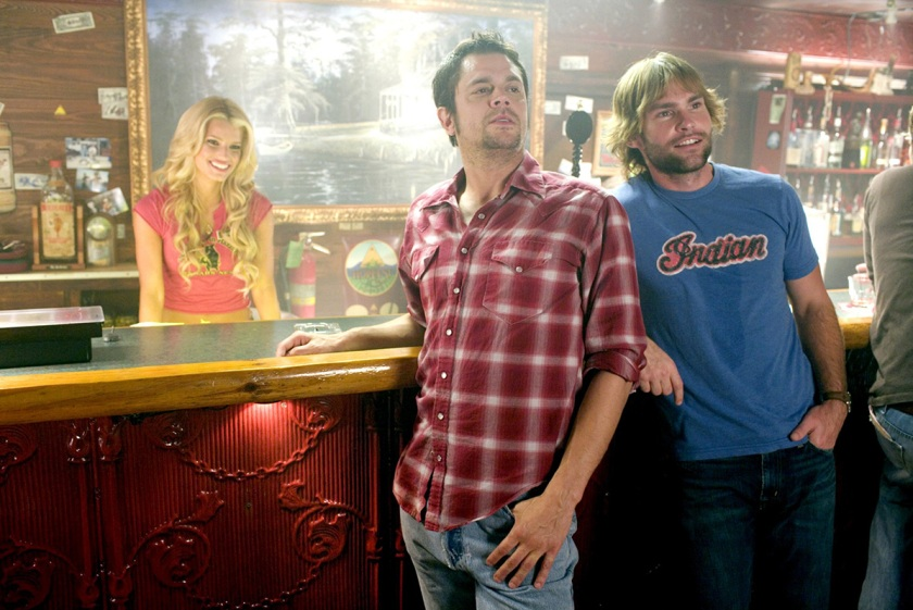 From left: A scene from the 2005 remake of 'The Dukes of Hazzard' starring Johnny Knoxville, Jessica Simpson, Seann William Scott, (Warner Brothers/Courtesy Everett Collection)