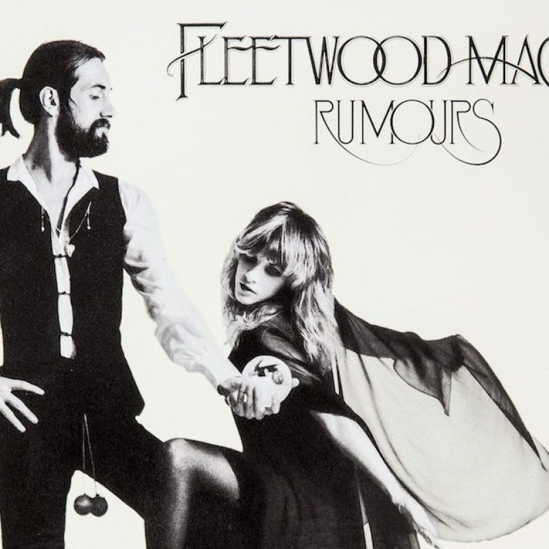 "CITY OF INDUSTRY, CA -- MAY 20, 2013--A sample of a Stoughton Printing Co., vinyl album jacket, this is an ""old style"" gatefold, with an embossed front cover (raised lettering), and spot uv coating (high gloss coating), for the re-issue of Fleetwood Mac's, ""Rumours,"" photographed at their company headquarters in City of Industry, May 20, 2014. Stoughton is a family-run business celebrating 50 years, as is known as one of the largest printers of jackets for vinyl LP record. (Photo by Jay L. Clendenin/Los Angeles Times via Getty Images)"
