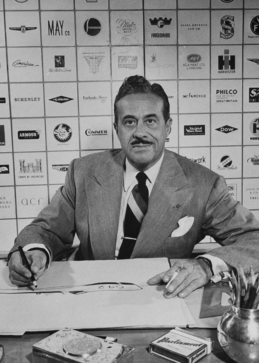 Raymond Loewy. (Photo by Bernard Hoffman/The LIFE Picture Collection/Getty Images)