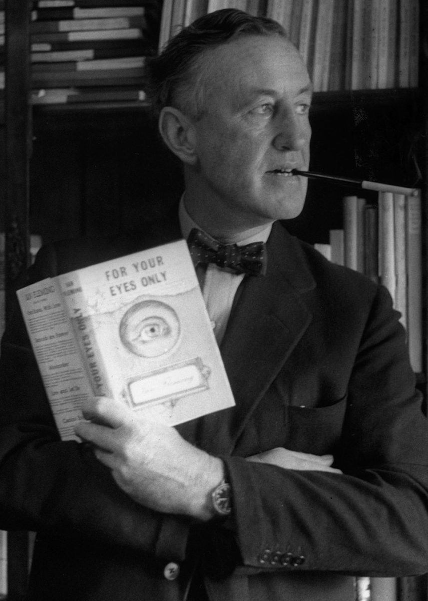 Ian Fleming's Obsession With Collecting Books