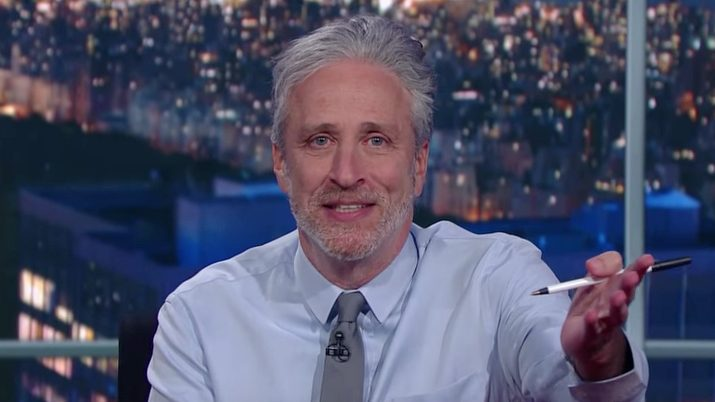 Jon Stewart Has a Message for the Media on 'Colbert'