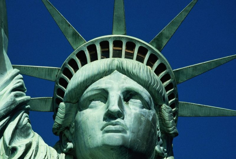 USA, New York City, Statue of Liberty, close-up