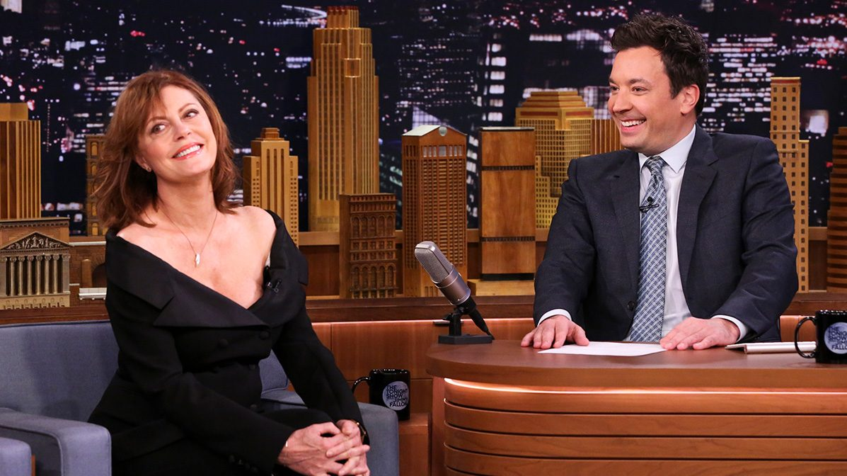 Susan Sarandon Talks 'Feud' on 'The Tonight Show Starring Jimmy Fallon'