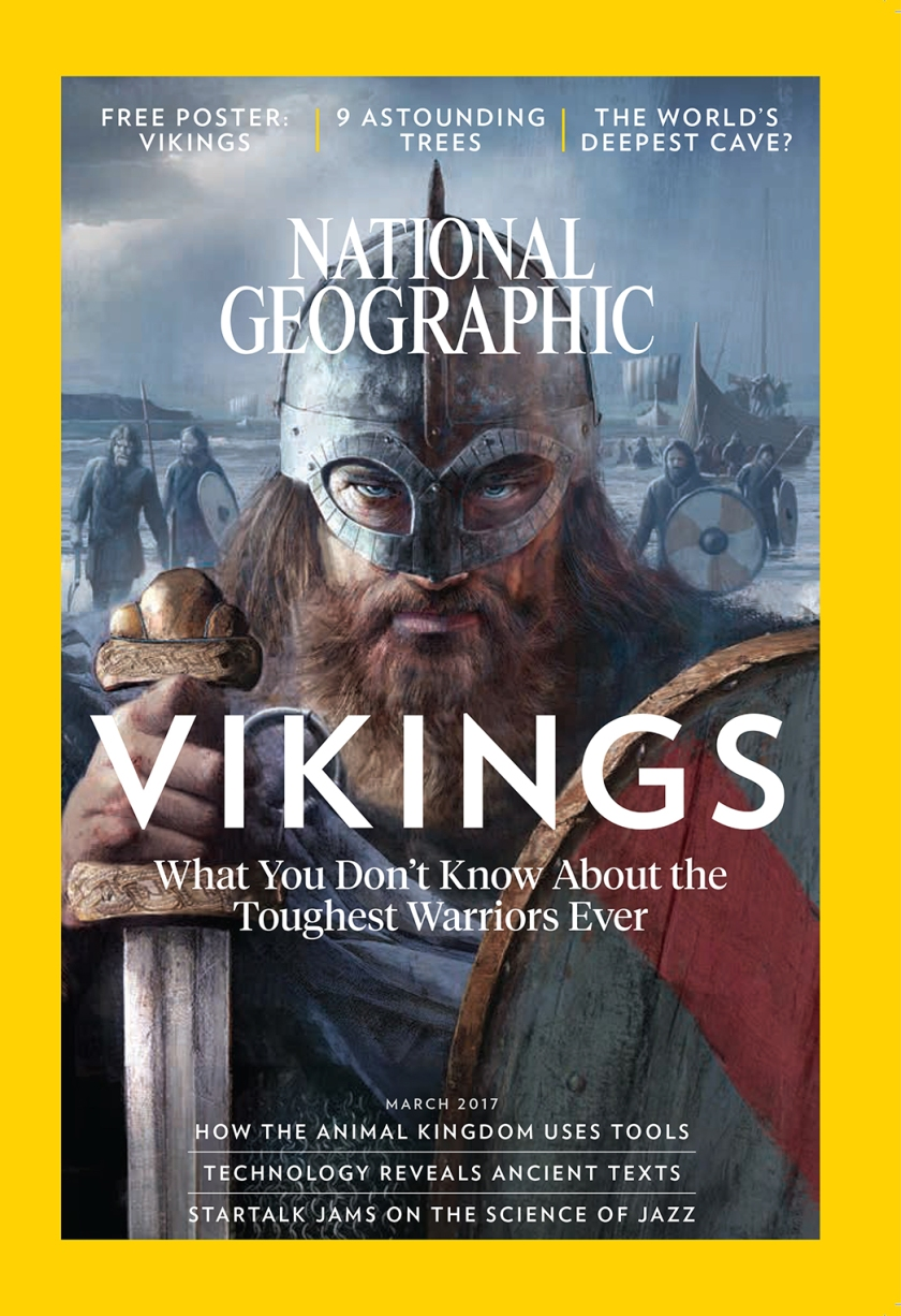 Cover of the March Issue (National Geographic)