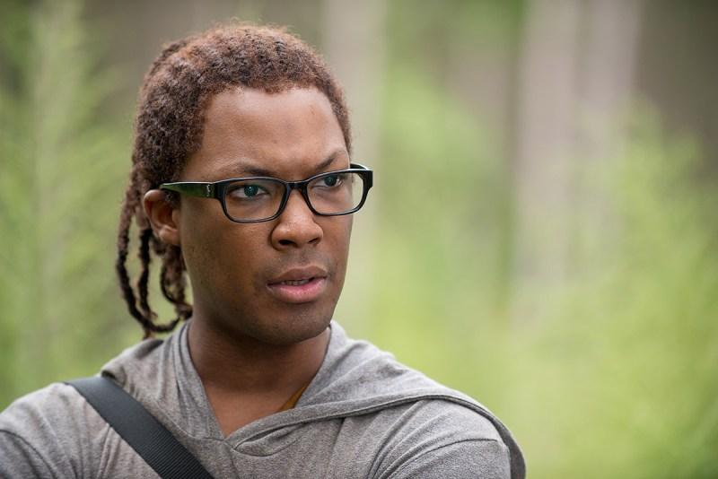 Corey Hawkins as Heathon The Walking Dead (Gene Page/AMC)